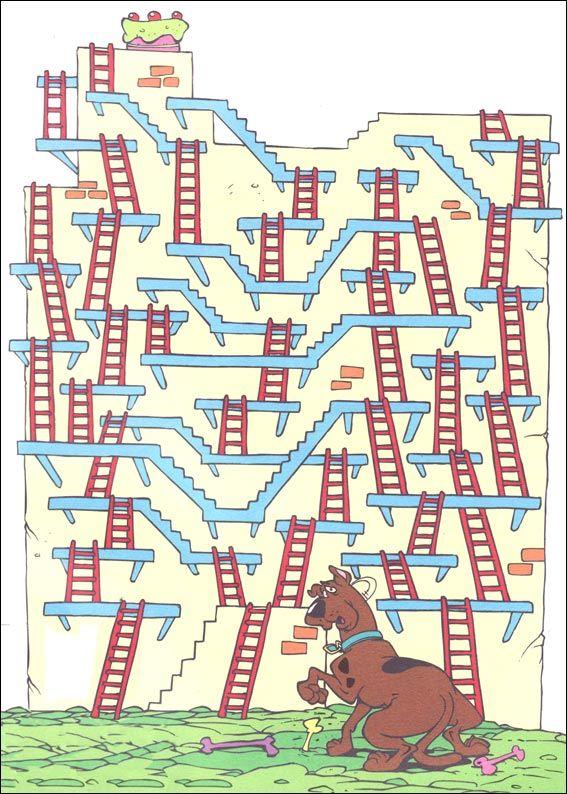 Level 1 von 5 - leicht; Alter: 4 bis 7 Jahre | Feladatos | Jeu labyrinthe, Labyrinthe et ...