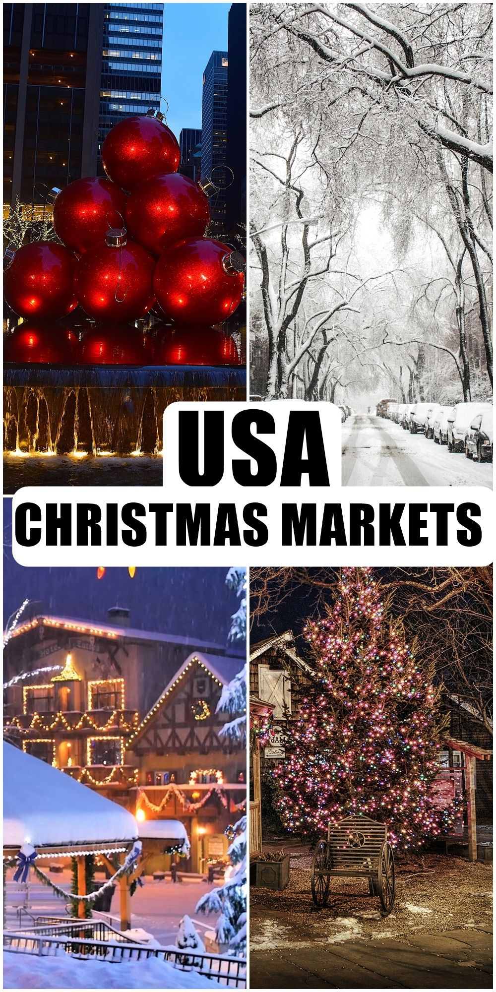 Christmas Market In Usa 2020 USA Christmas Markets in 2020 | Christmas market, Best christmas