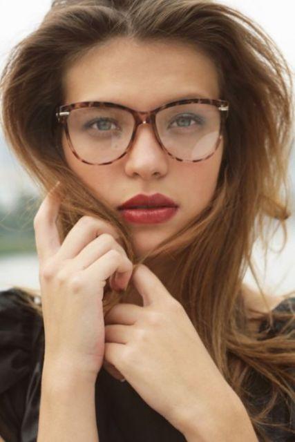 e194a069c1fb8 exemplo óculos de grau em rosto redondo