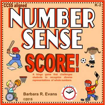 NUMBER SENSE Numbers to 20, Number Sense Activity, Numbers Game