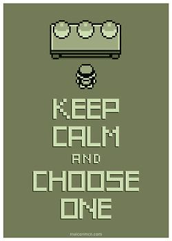 ✩ Keep Calm and Choose One
