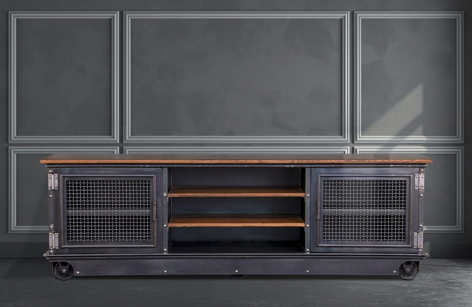 96″ Long Boxcar Ellis Console – Model #E50