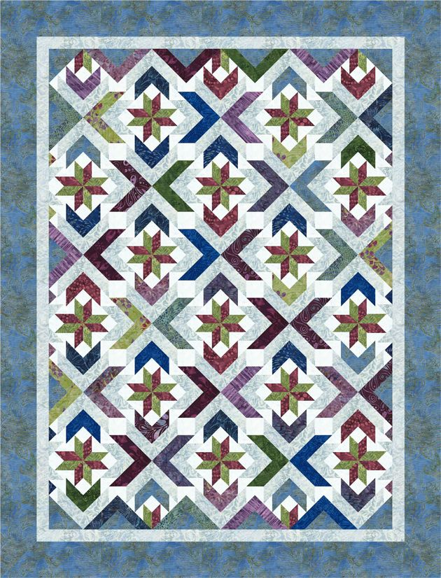 Winter Solstice pattern from Cozy Quilt Designs featuring Tonga ... : cozy quilts designs - Adamdwight.com