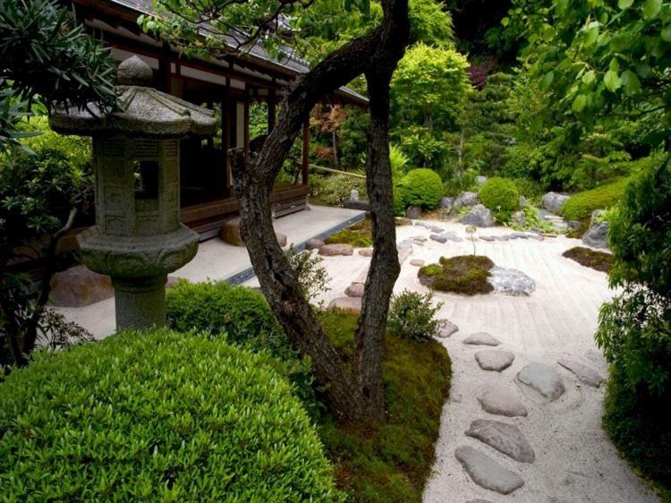 am nager jardin japonais et vivre en harmonie avec la nature jardin japonais jardins. Black Bedroom Furniture Sets. Home Design Ideas