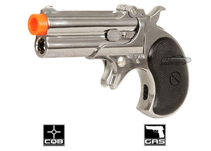 Marushin Derringer Gas Pistol Airsoft Gun ( 8mm   Silver ) - Blake    Brantley 86b0fd82b9