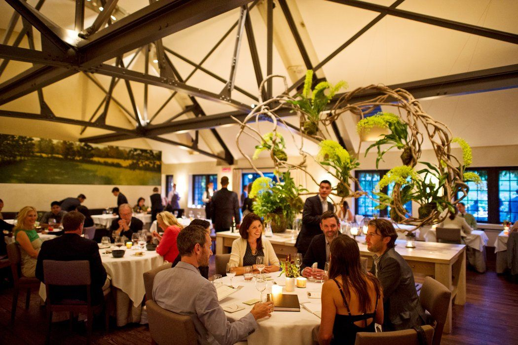 Image result for blue hill stone barns dining room Stone