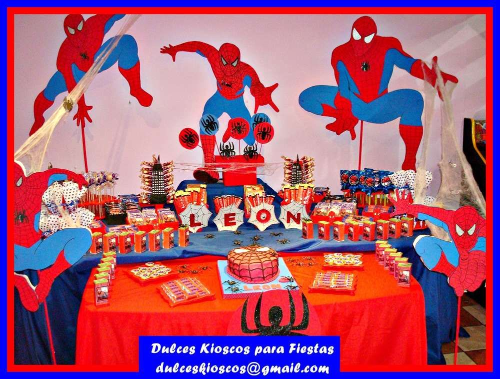Spiderman Birthday Party Ideas Birthday party ideas Birthdays and