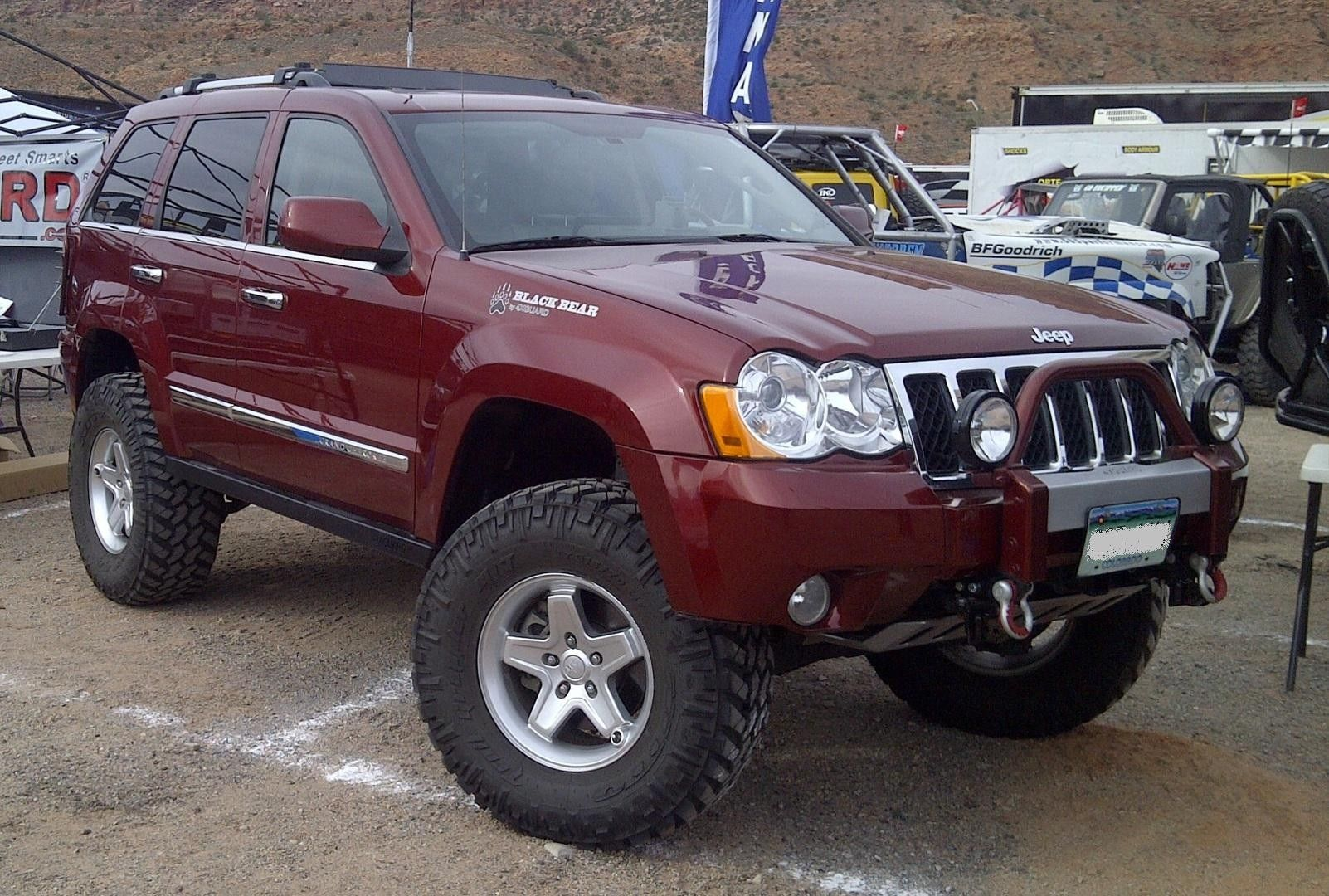 Lifted Jeep Commander Up Grade Superlift 4 In Lift Kit 6 Coilover 2007 Jeep Grand Cherokee Jeep Wk Lifted Jeep Cherokee