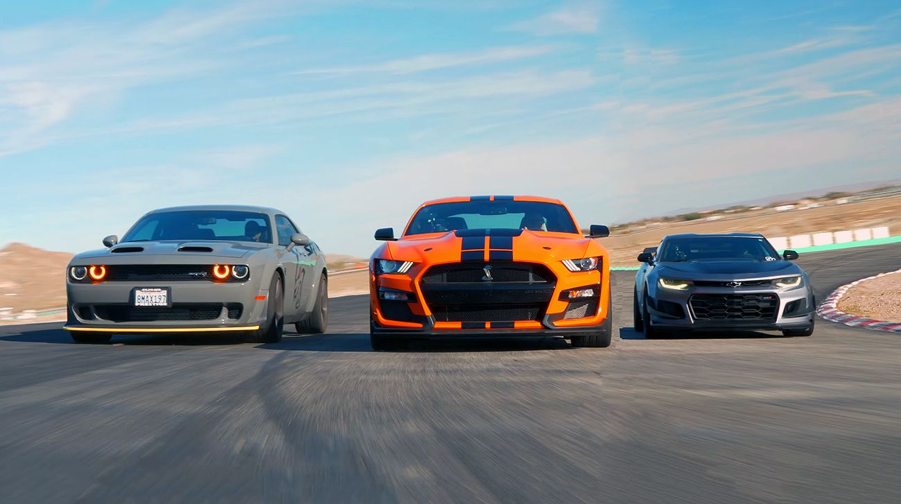 2020 Shelby Gt500 Vs Camaro Zl1 1le Vs Hellcat Redeye In 2020