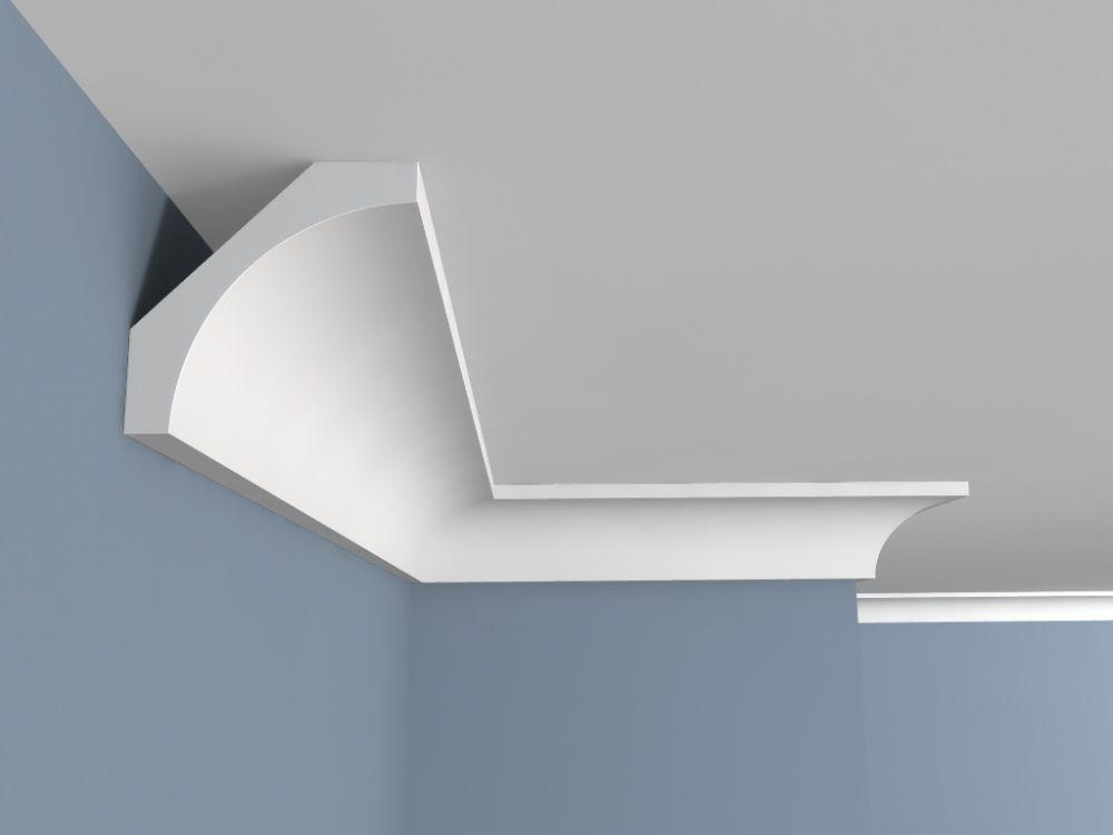 Deckenleiste Kunststoff Fe1 Deckenstuck Montagekleber Decke Haus Wohnzimmer