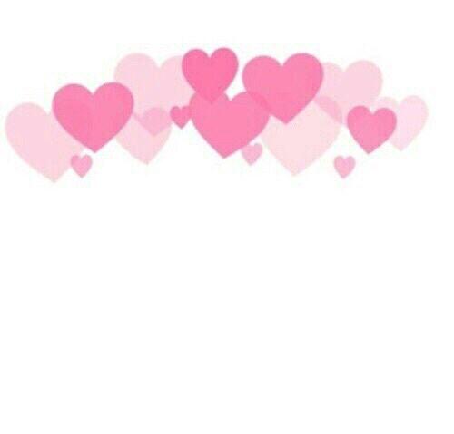 Imagem De Overlay Hearts And Pink Overlays Picsart Emoji Tumblr Png Sticker Art