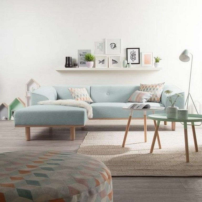 Beautiful Colorful Living Rooms: 45+ Beautiful Living Room With Colorful Pastel Color Style
