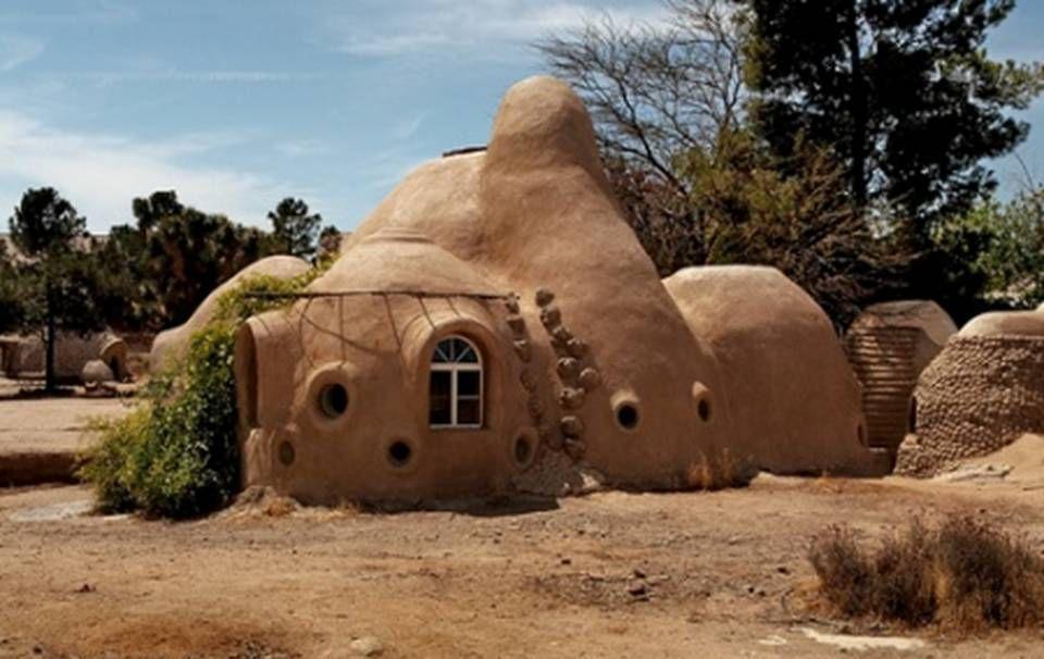 Eco Domes Maisons En Sacs De Terre Dans Le Monde