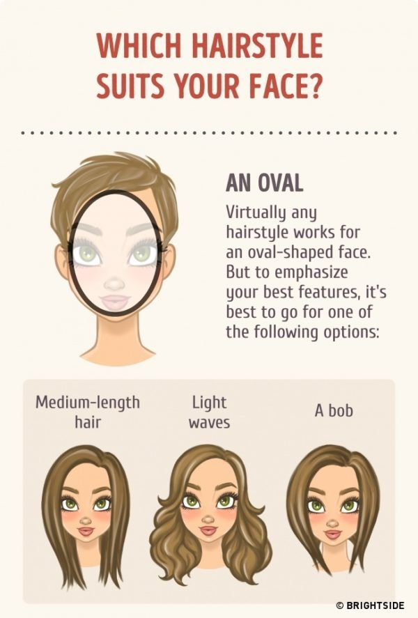 how to choose hairstyles for oval faces | hair | Pinterest | Face ...