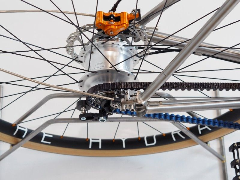 Pin on Nua Titanium Bikes and Components