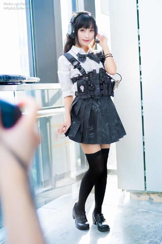 Apologise, Japanese girls with airsoft guns shooting thought