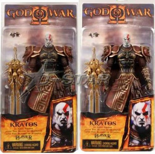 """Free Shipping Cool 7.5"""" God of War Kratos in Ares Armor with The Blade of Olympus PVC Game Action Figure Model Collection Toy $20.99"""