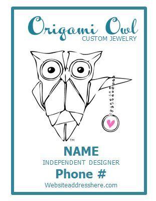 Origami Owl Logo Info Decal Cyndi Pinterest Owl Logo Origami