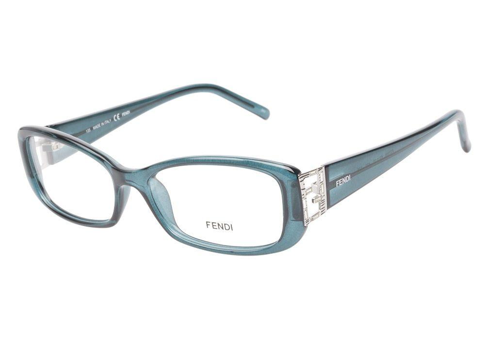 Fendi F976R 425 Ocean Blue eyeglasses are fantastically fabulous ...