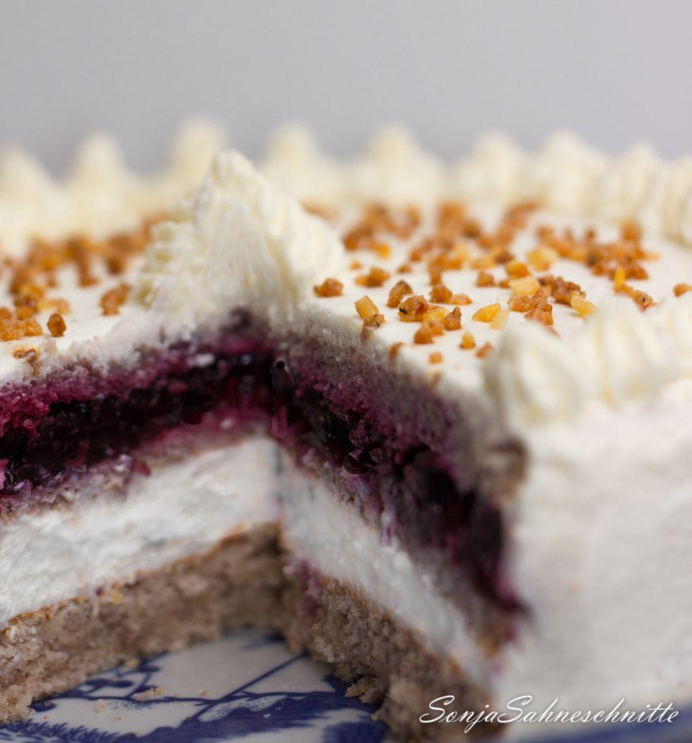 Buchweizen Waldbeeren Torte Buchweizen Kuchen Leckere Torten Buchweizen Torte