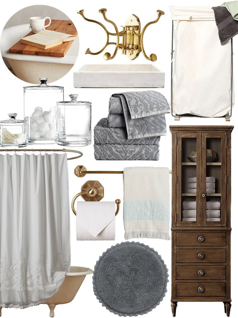 Create the Look: New Traditional Bathroom Shopping Guide | Bathtub ...