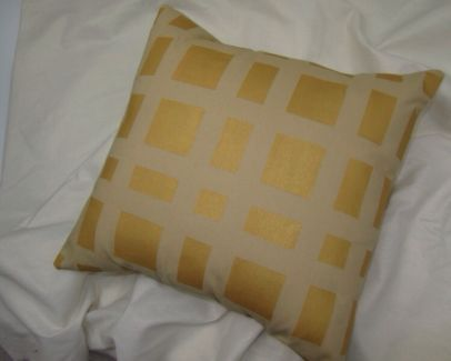 New Geometric Gold Cushion 36cm Other Soft Furnishings Gumtree Australia Hobart City Sandy Bay 103 Gold Cushions Handmade Cushions Soft Furnishings