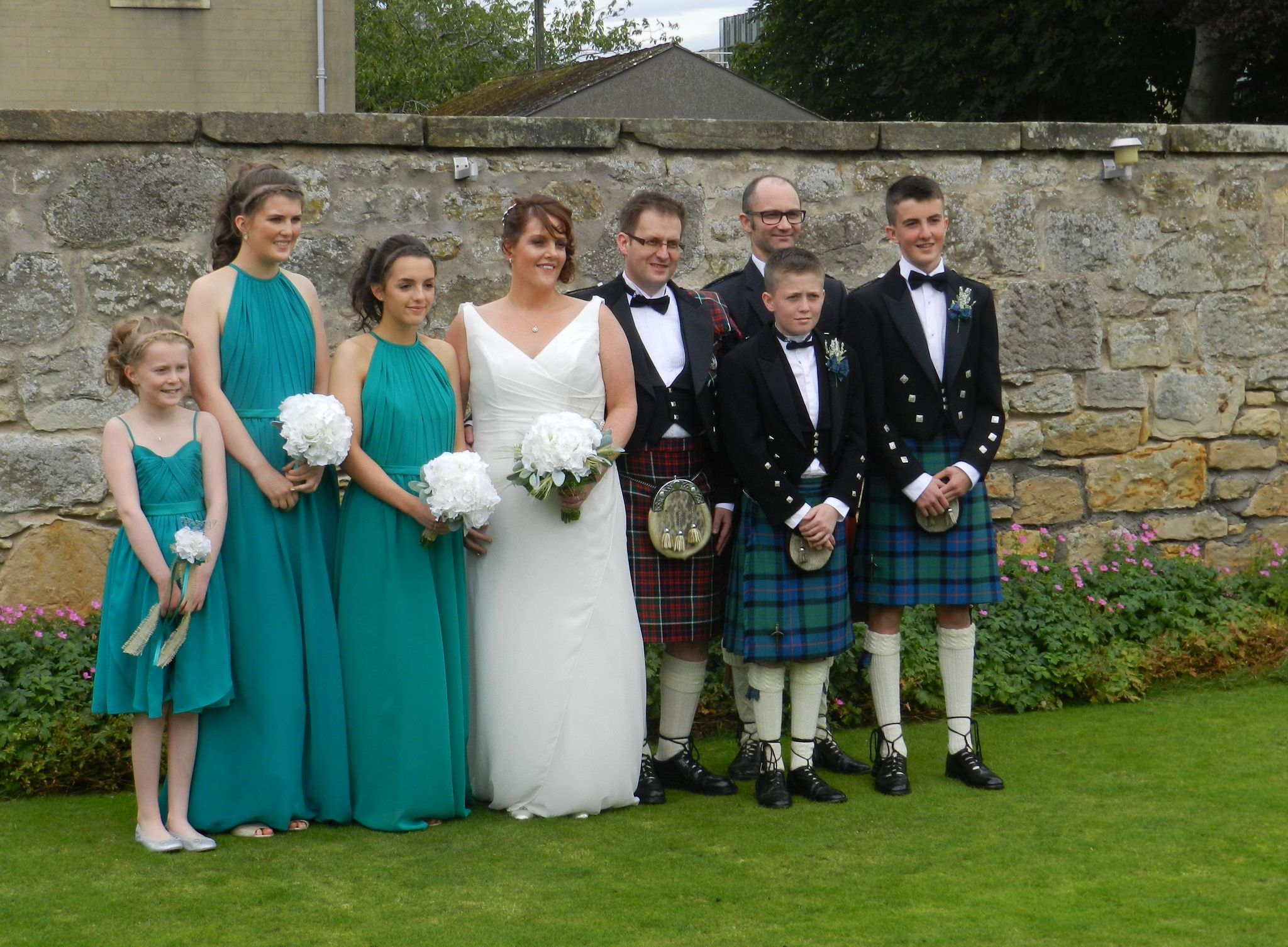https://flic.kr/p/LC6qkW | The Wedding, Bride and Groom, Best man, Bridesmaids and Ushers, Sep 2016 | It was lovely to attend a wedding yesterday always such a happy occasion. I have known the groom for over 20 years. We had a nice wedding ceremony at Elgin Baptist Church and then we walked to the Sunninghill Hotel where we had a lovely meal.