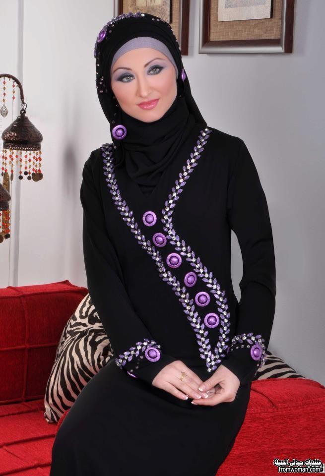 عبايات بناتى سوداء روشة The Most Beautiful Models Abayas Fashion Most Beautiful Models Beautiful Models
