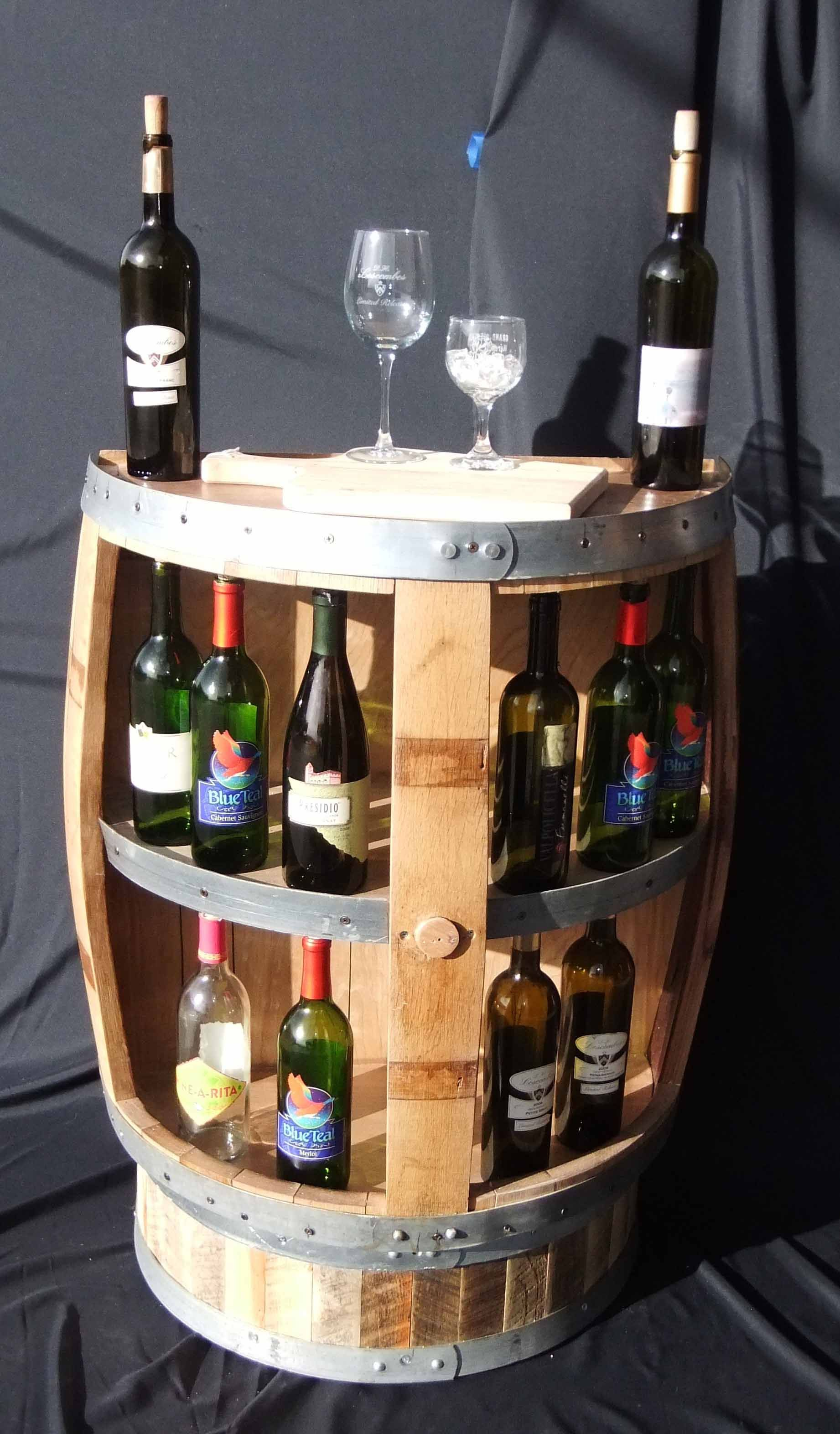 chicago barn crafts wood barrel reclaimed wine all with tin about and rack used barrels