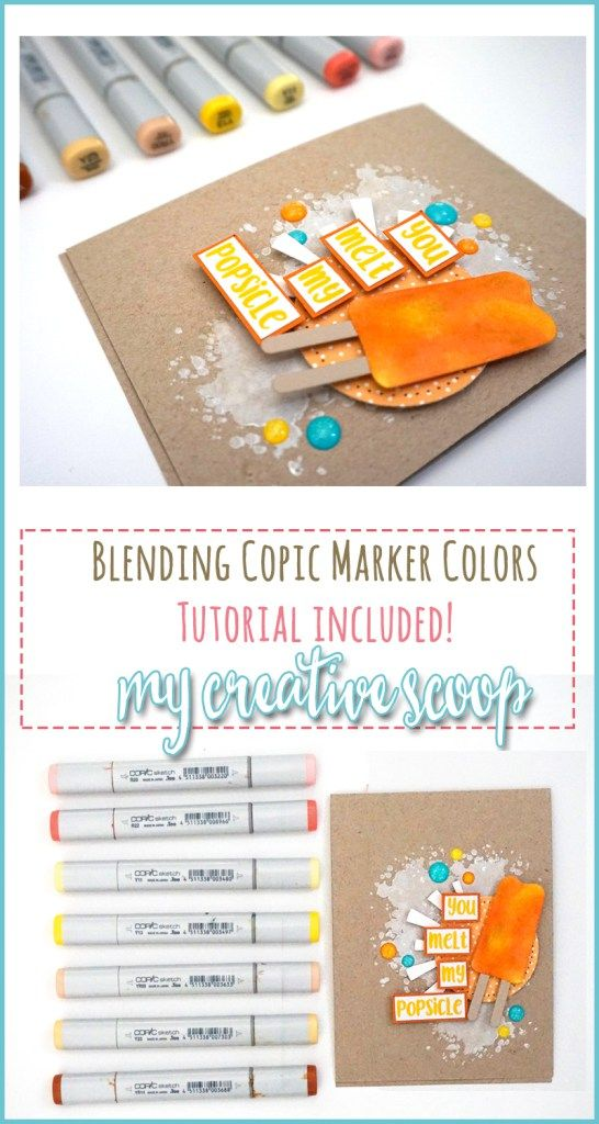 Step by Step - Blending Copic Marker Colors - Paper Smooches Stamps