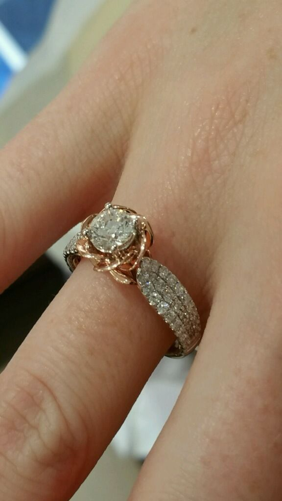 Beauty And The Beast Engagement Ring From Zales Wedding Rings Engagement Wedding Ring Collections