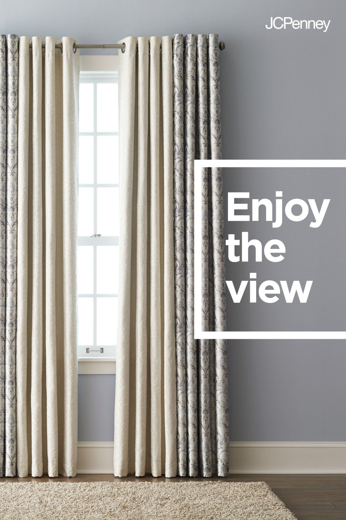 5c649060c6951f JCPenney is The Window Authority.™ Shop with the experts! Fall is the  perfect time to change up your windows. From grommet-top curtains to  blackout and ...