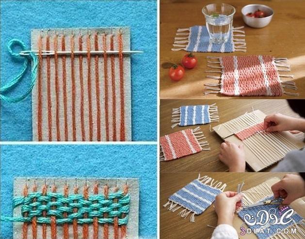 اعمال فنية جميلة اعمال يدوية سهلة وحلوة اعمال 2015 Diy Coasters Diy Craft Projects Crafts