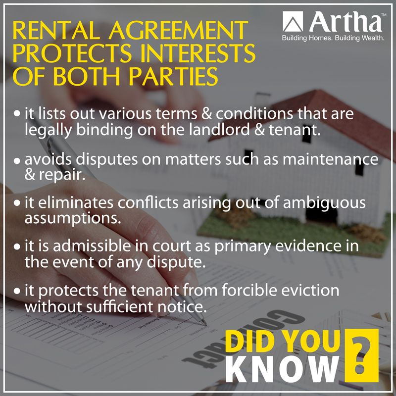 Here S Something For All Those Who Want To Take Or Give Their Homes On Rent Being A Landlord Landlord Tenant Wealth Building