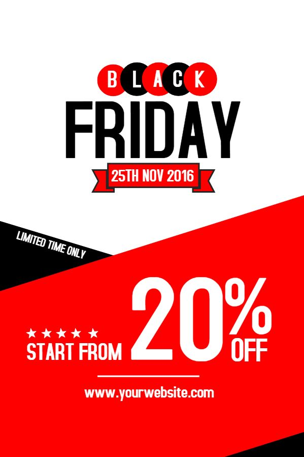 Pin On Black Friday Flyer Templates