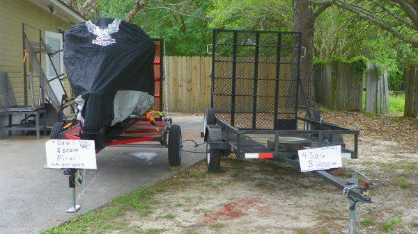 Motorcycle Trailers Auto Parts Accessories Valdosta Ga At Geebo Motorcycle Trailer Motorcycle Trailer