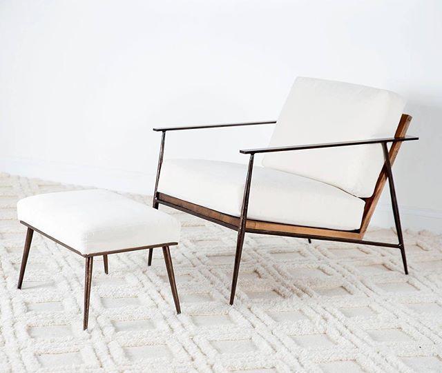 #midcentury #midcenturymodern mid-century marvelous! Our Emmitt chair introduced at October #hpmkt #madeinnorthcarolina #madeinusa #madeinamerica #americanmade #charlestonforge #furniture #furnituredesign #interiordesign #style #chair #boonenc #madeinnc