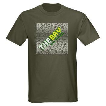 The Bay We Fresh - Men's Dark T-Shirt