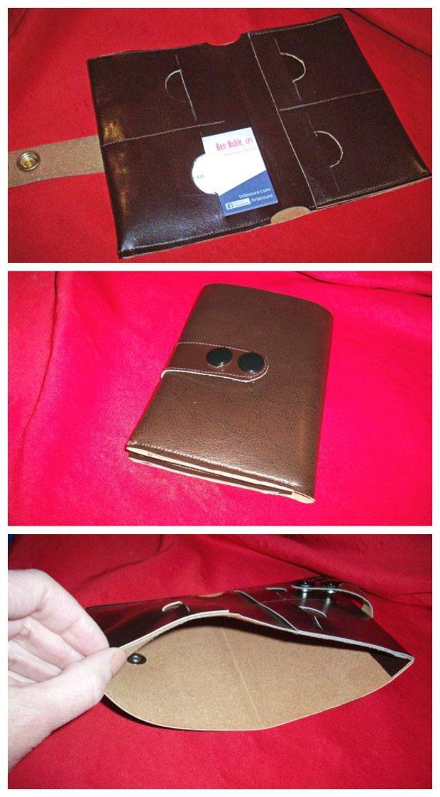 Minimalist Wallet sewing pattern. I made this for my guy in a real ...
