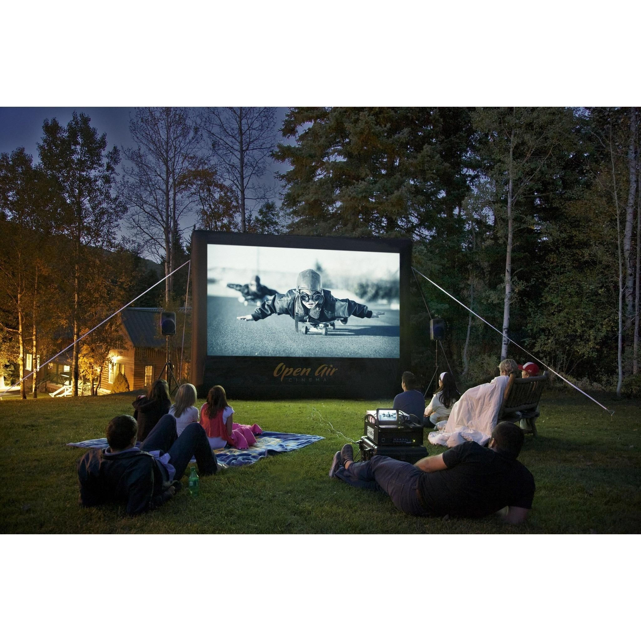 Open Air Cinema 12 Home Cinebox Outdoor Movie Theater System CBH 12