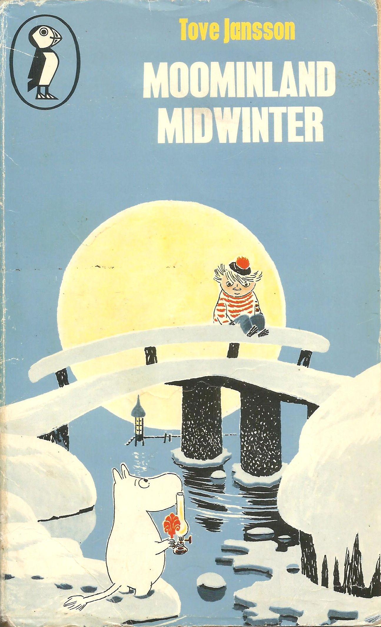 Moominland Midwinter - Tove Jansson -2.6.17-Enchanting. Scandinavian Petit Prince.