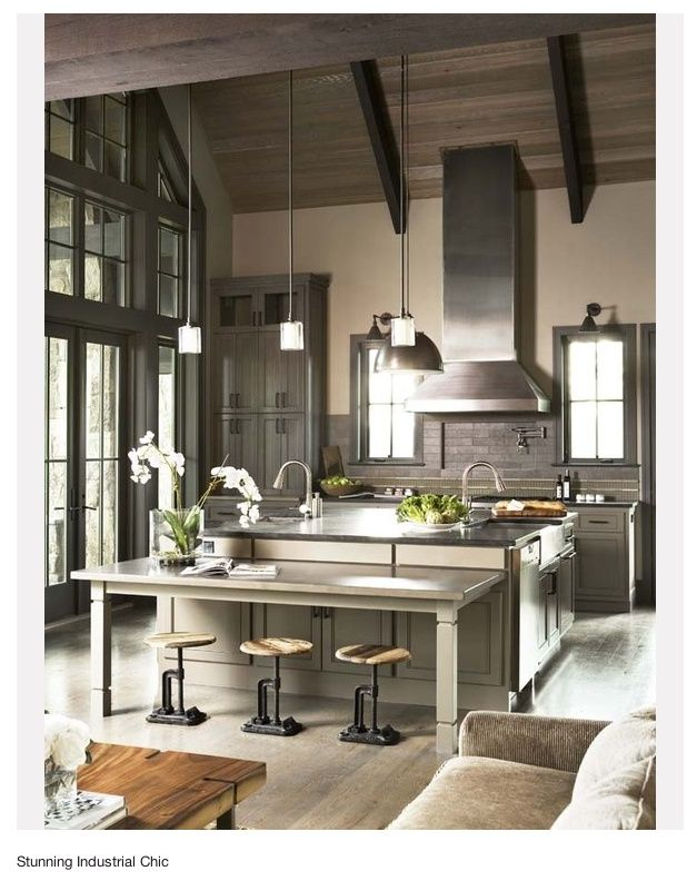 30 Cool Industrial Design Kitchens  Daily Source For Inspiration Beauteous Design My Kitchen Layout Inspiration Design