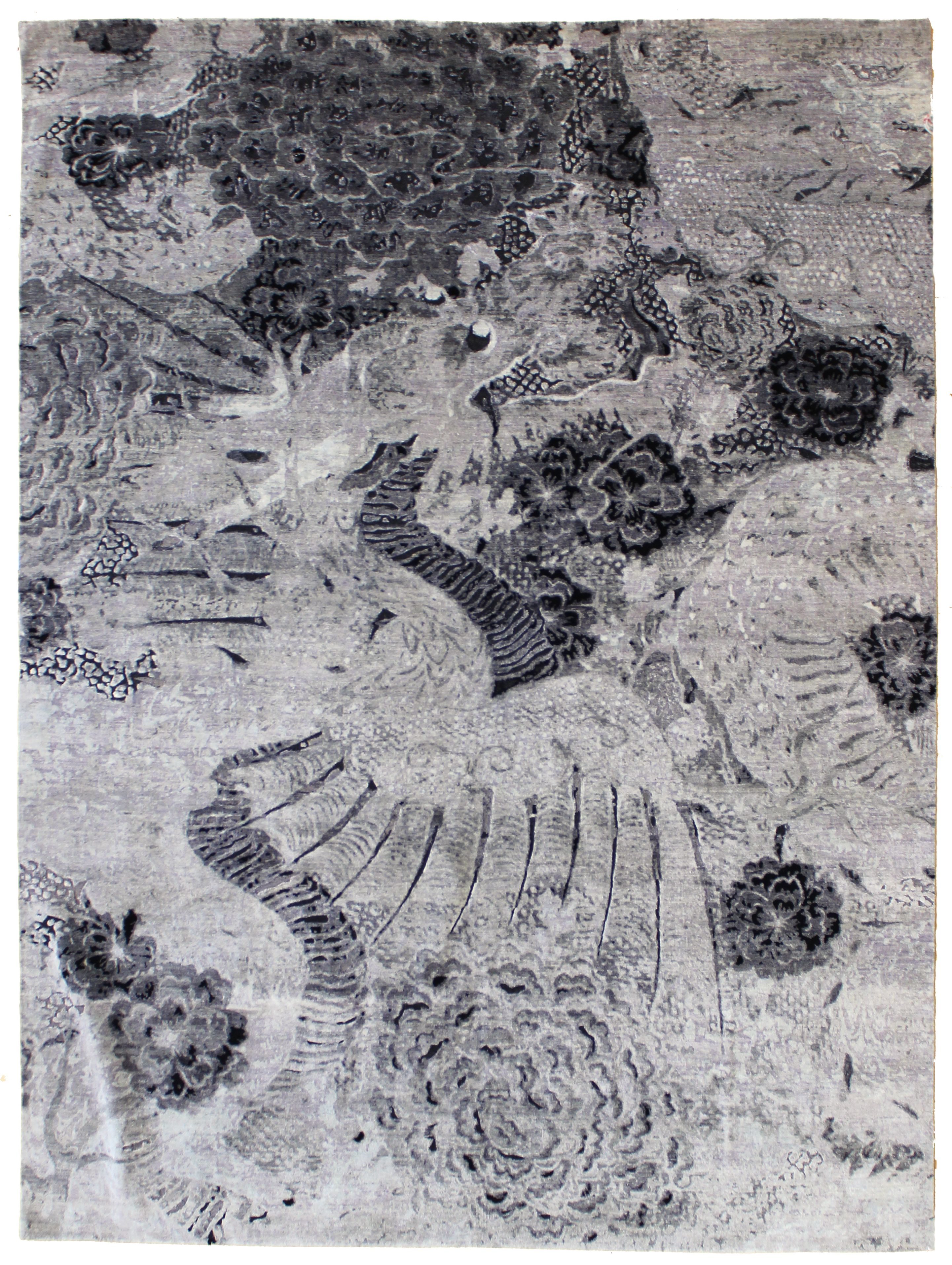 Awesome New Contemporary Dragon Rug Design In The Tissage Collection J38882 Far East Www Landryandarcari Com Contemporary Rugs Contemporary Rug