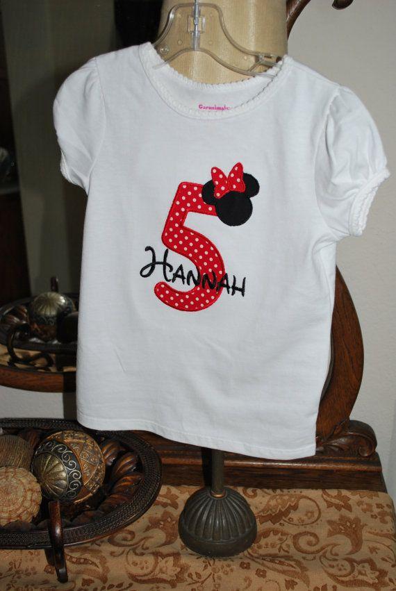 The Shirt Hannah Will Be Wearing To Disneyland On Her Birthday