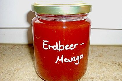 Erdbeer-Mango-Konfitüre (Rezept mit Bild) von miguan | Chefkoch.de