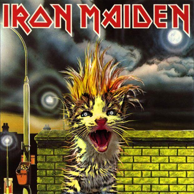 97908b9b1 The Kitten Covers: Iron Maiden | Album Covers | Iron maiden, Iconic ...