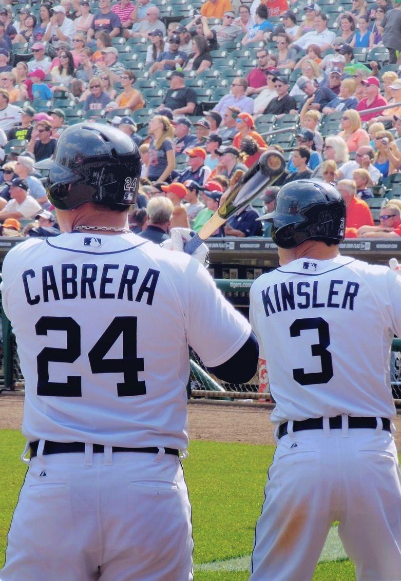 LL lufelive baseball Kinsler and Cabrera Detroit