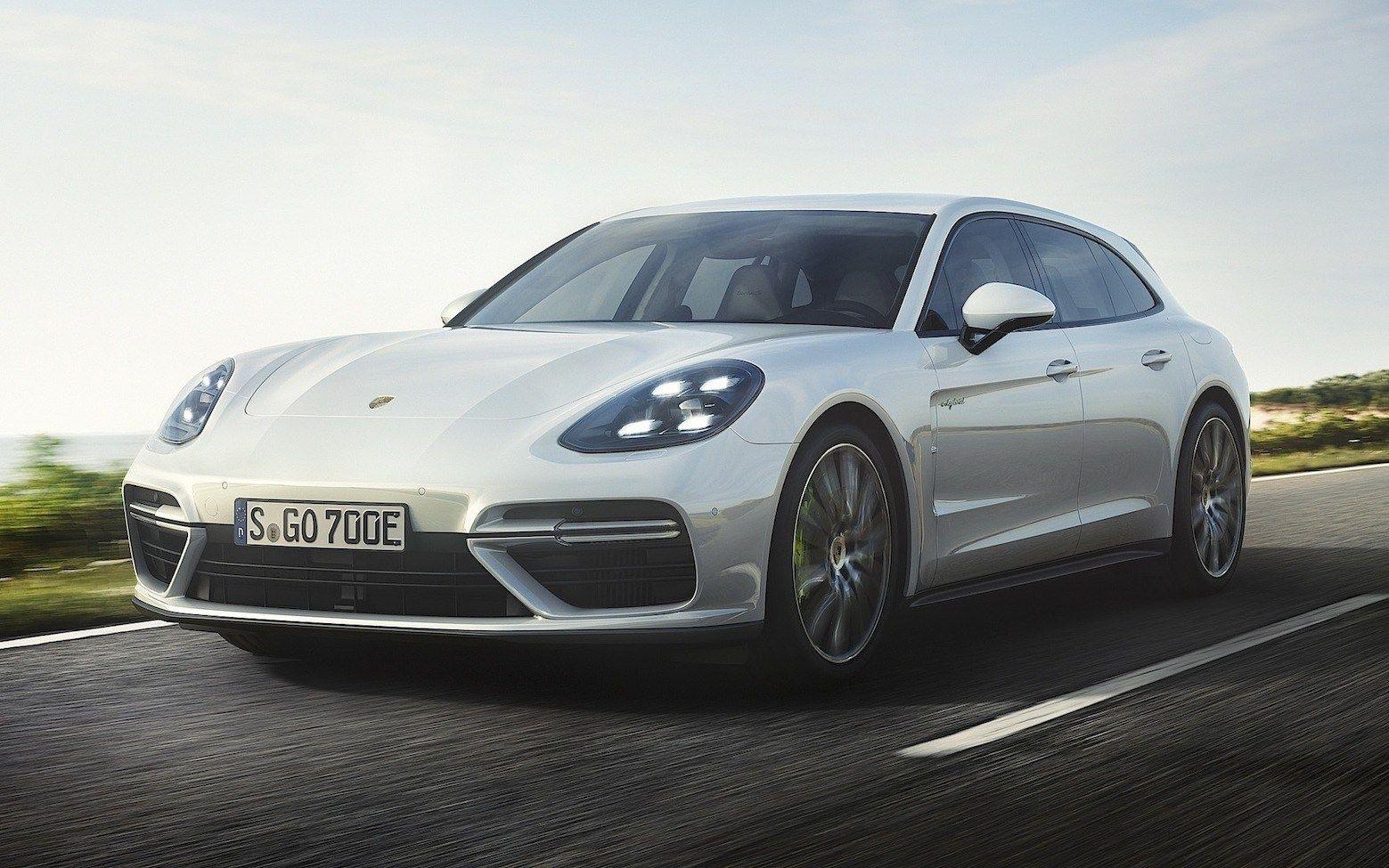 Porsche Panamera Turbo S EHybrid Sport Turismo Ecologia