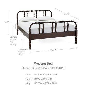 Webster Bed