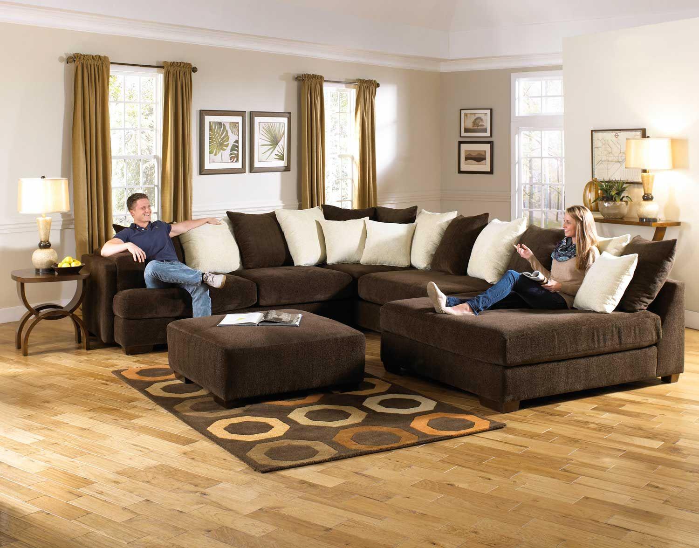 Jackson Axis Large Sectional Sofa Set Large Sectional Sofa
